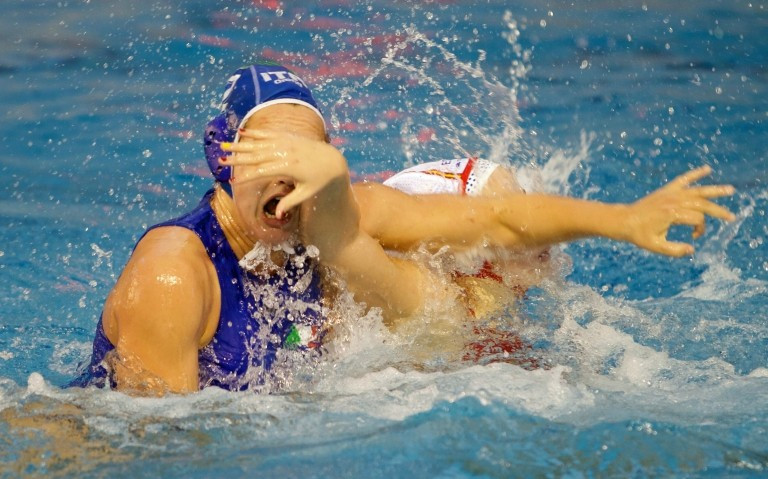 Spain booked their place in the final with a 12-10 win over Italy ©FINA