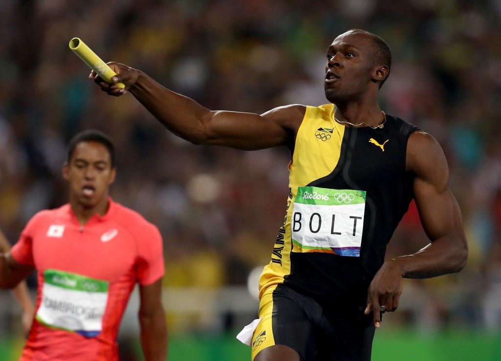 Nine-time Olympic gold medallist Usain Bolt claimed it was