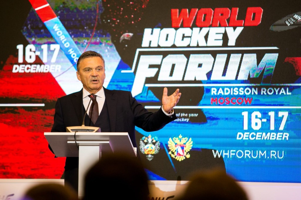 Fasel offers support to Russia over doping scandal by ruling out removal of World Championship