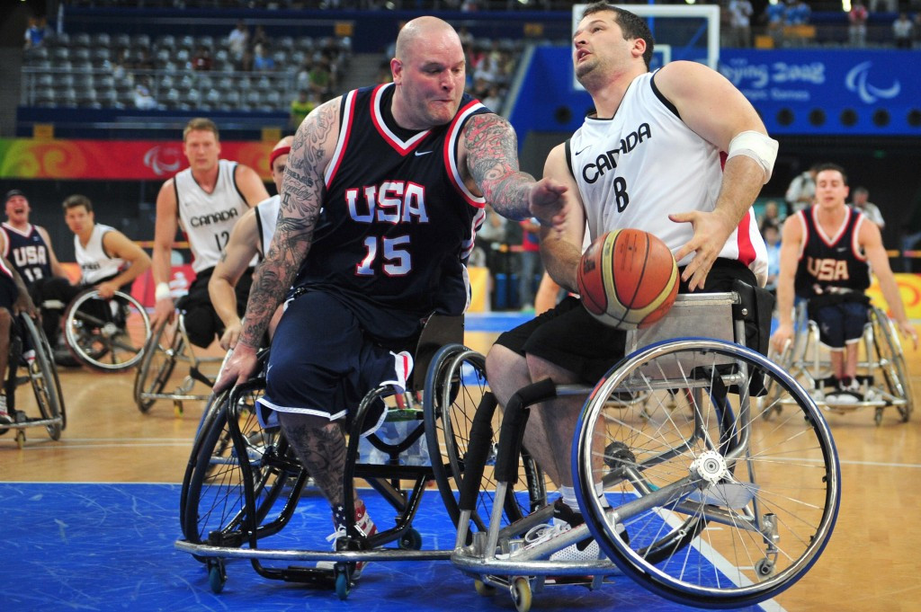 The United States could face arch-rivals and Paralympic champions Canada in the later stages of the competition