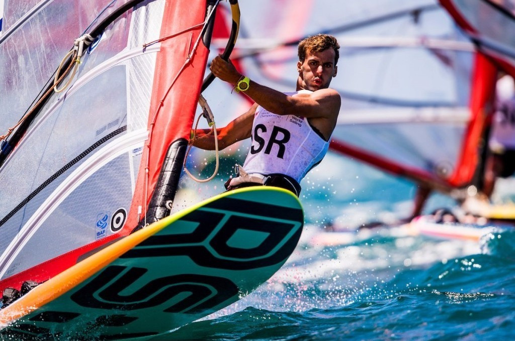 Omer claims hat-trick of victories to open up huge boy's RS:X lead at Youth Sailing World Championships