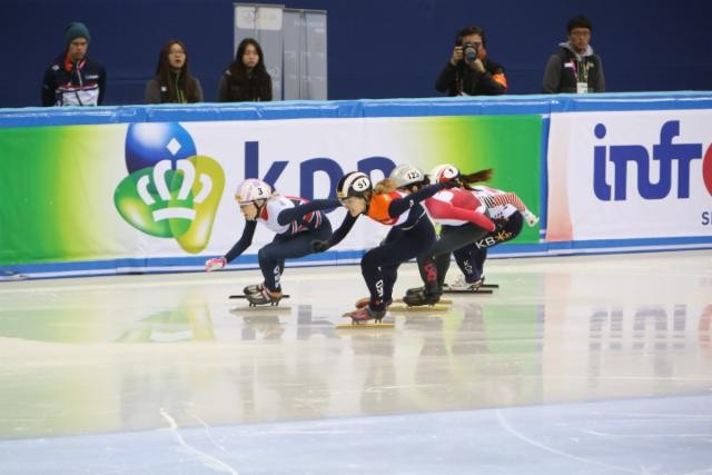Gold rush for Christie continues in ISU Short Track World Cup