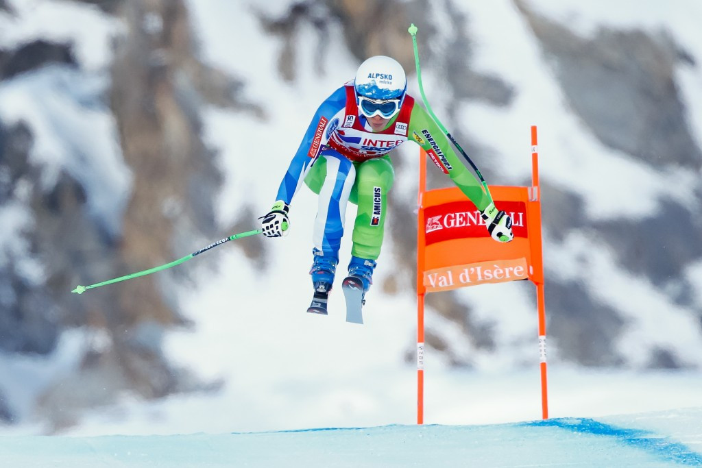 Slovenia's Ilka Stuhec claimed her fourth victory of the season with women's downhill success in Val d'Isère ©Getty Images