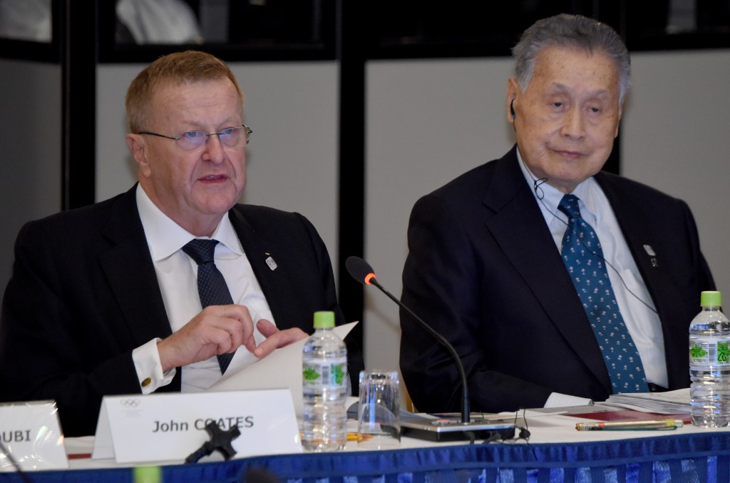 """IOC vice-president John Coates warned Tokyo 2020's $20 billion budget cap """"risks giving a bad impression"""" to cities considering bidding for the Olympic and Paralympic Games ©Getty Images"""