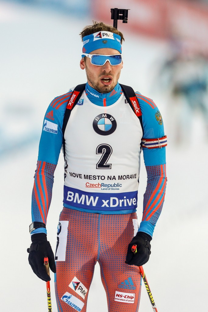 Russia's Anton Shipulin took the silver medal in Nové Město ©Getty Images