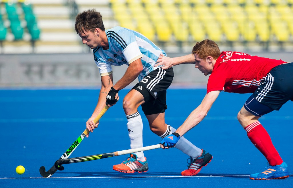 Argentina will have the chance to compete for fifth place at the Men's Junior Hockey World Cup after beating England 3-0 ©FIH