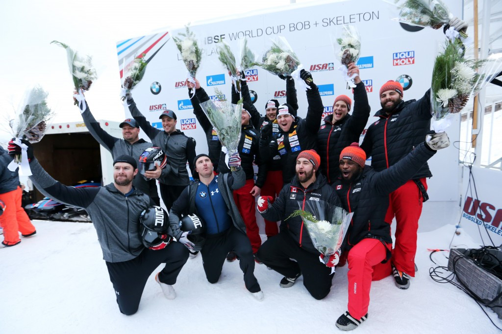 Peter clinches first World Cup four-man victory in Lake Placid