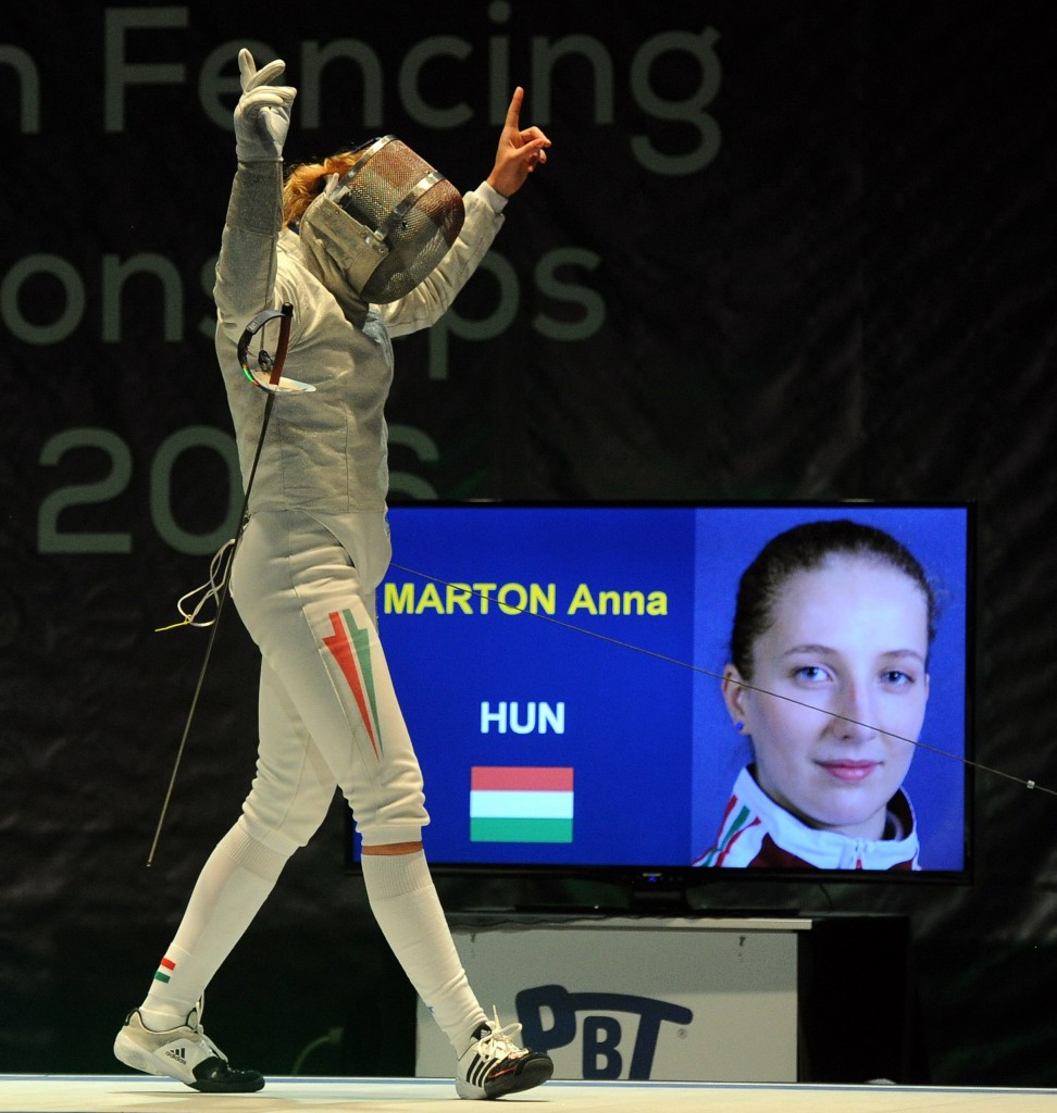 Anna Marton of Hungary had to settle for second place at the Grand Prix event ©Getty Images