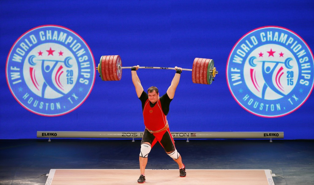 Russian weightlifting has been plagued by doping problems ©Getty Images