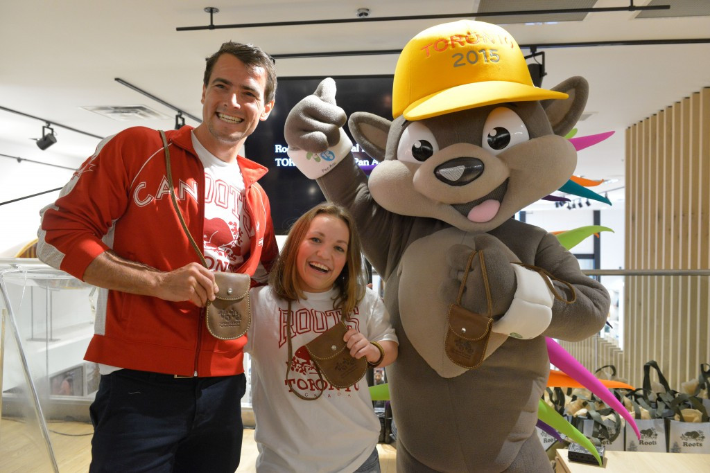 Roots Canada revealed as latest supporter of Toronto 2015 Pan American and Parapan American Games