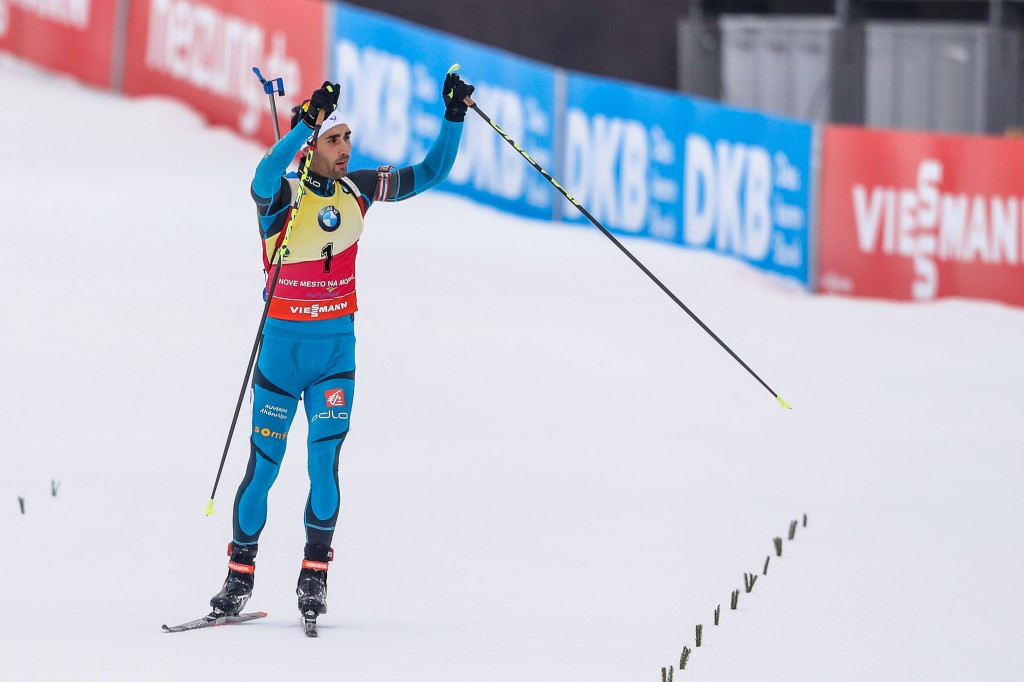 Fourcade continues IBU World Cup dominance with seventh victory of the season