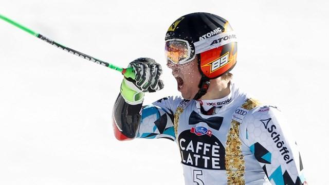 Hirscher dazzles at Italian resort to claim FIS Alpine World Cup giant slalom win