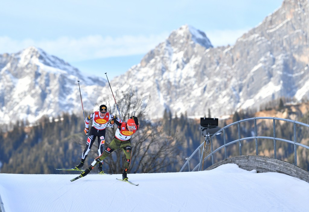 Frenzel secures victory as Germany sweep podium again at FIS Nordic Combined World Cup