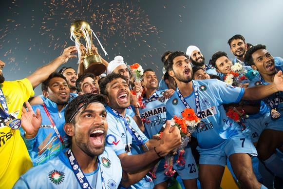 India light up home crowd to win first Men's Junior Hockey World Cup title in 15 years