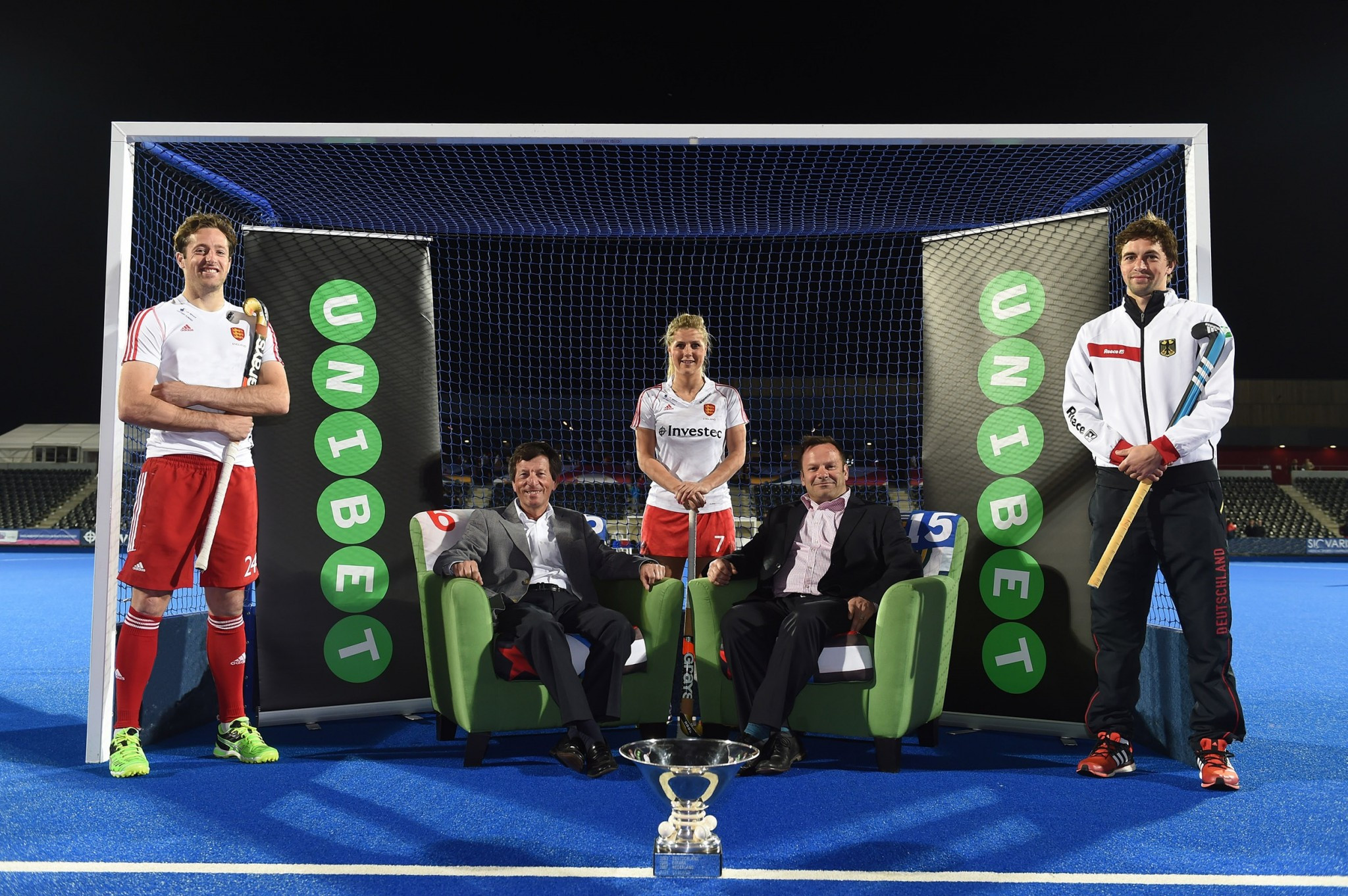 Unibet announced as title sponsor for 2015 EuroHockey Championships