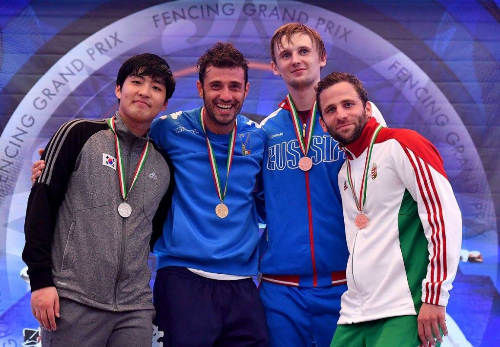 Samele makes individual breakthrough with FIE Cancun Sabre Grand Prix win