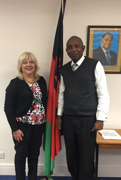 IWAS chief executive promotes development project at Malawi High Commission