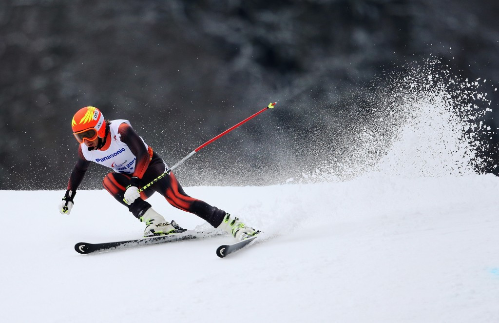 Maiztegui claims giant slalom spoils at IPC Alpine Skiing World Cup leg in St Moritz