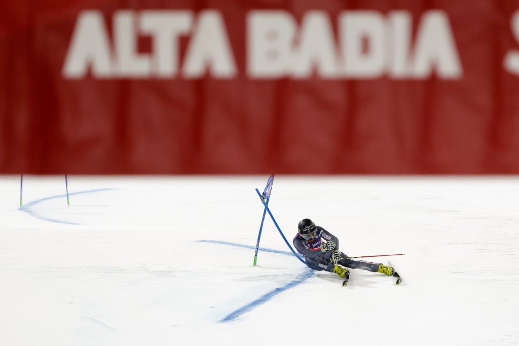 Sarrazin claims shock victory in parallel giant slalom race at FIS Alpine Skiing World Cup