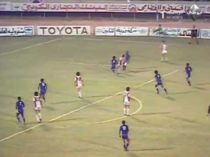 Kuwait beat South Korea 3-0 to win the 1980 Asian Cup ©YouTube
