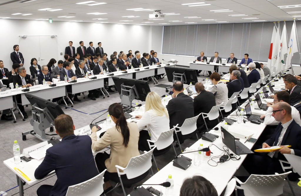 The IOC Coordination Commission discussed several topics during their two-day visit to the Japanese capital