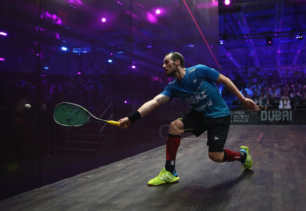 Former world champion Gregory Gaultier will also play in Sweden ©Getty Images