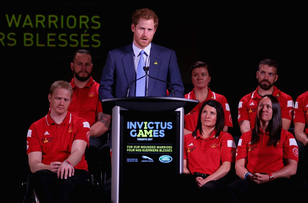 The Invictus Games were established by Prince Harry in 2014 ©Getty Images