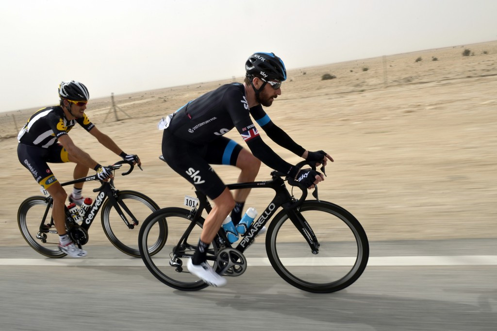 Sir Bradley Wiggins (right) is under fire for his use of TUEs before three major stage races ©Getty Images