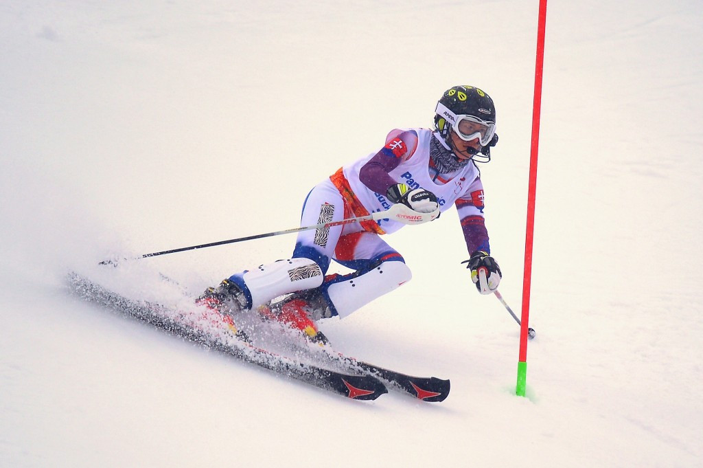 Farkasova beats British rivals to visually impaired gold at IPC Alpine Skiing World Cup