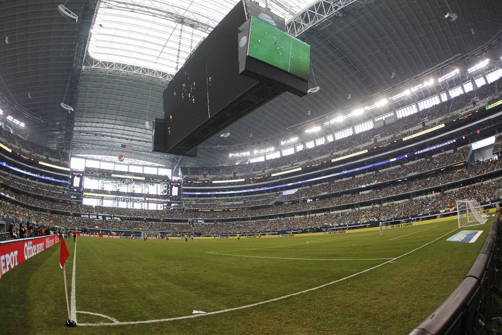 AT&T Stadium in Arlington is one of 14 venues set to be used for the 2017 Gold Cup in the United States ©Getty Images