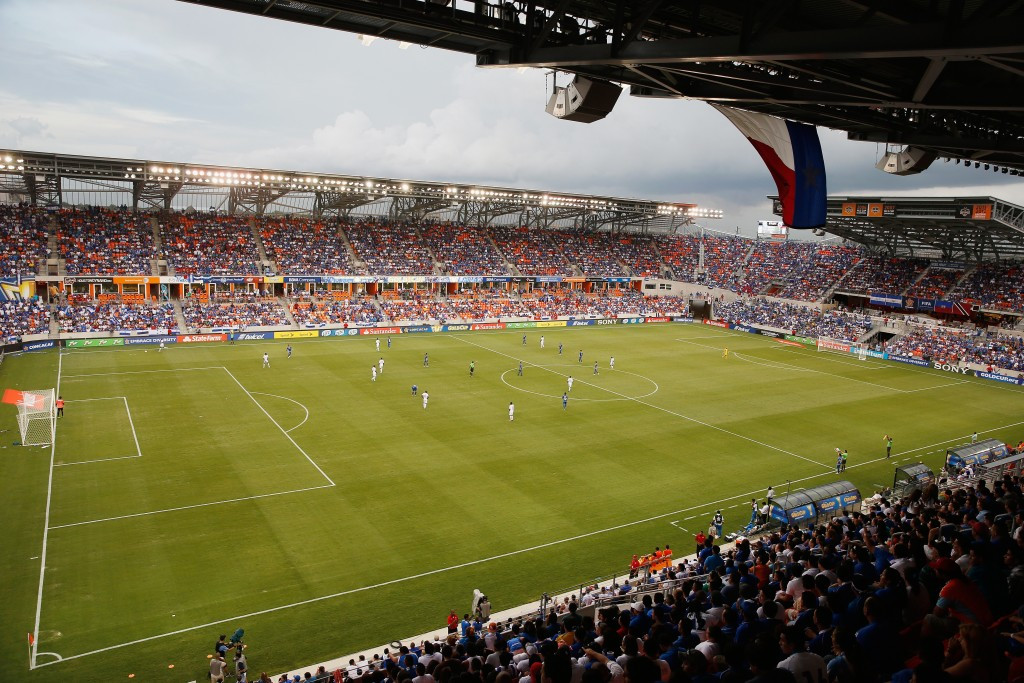 The BBVA Compass Stadium in Houston has also been chosen ©Getty Images