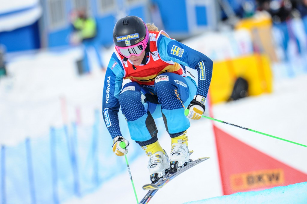 Sochi 2014 Olympic bronze medallist Anna Holmlund has been placed in a medically-induced coma after suffering an injury to her head in training for the FIS Ski Cross World Cup competition in Italian town Innichen ©Getty Images