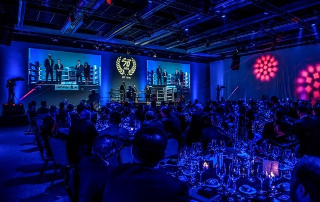 The International Boxing Association celebrated its 70th anniversary with a Gala Dinner ©AIBA