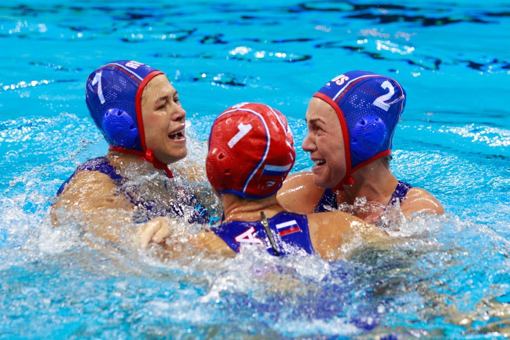 Russia opened their World League account with victory ©Getty Images