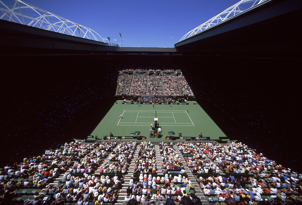 The Rod Laver Arena will host the finals at the tournament ©Getty Images