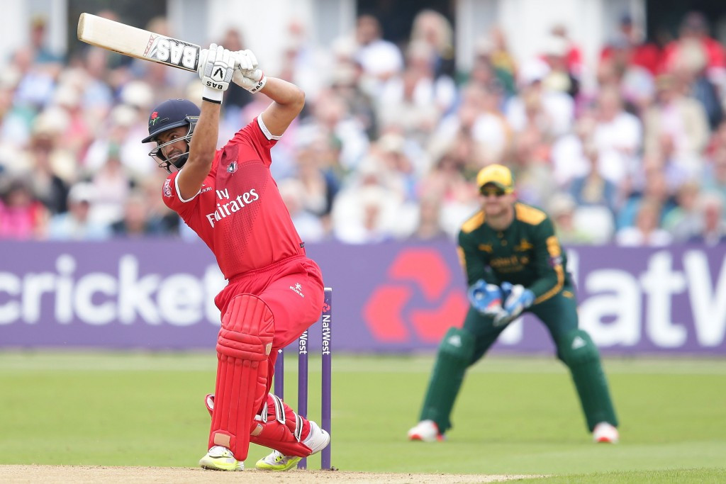 Alviro Petersen, seen here playing for Lancashire, has been banned for two years ©Getty Images