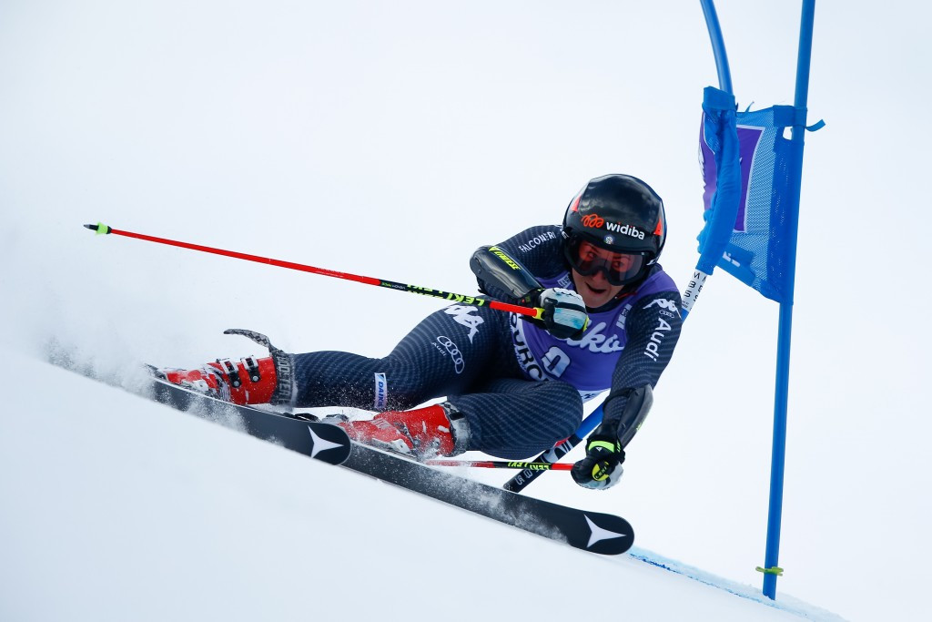 Italy's Sofia Goggia was leading before the cancellation ©Getty Images