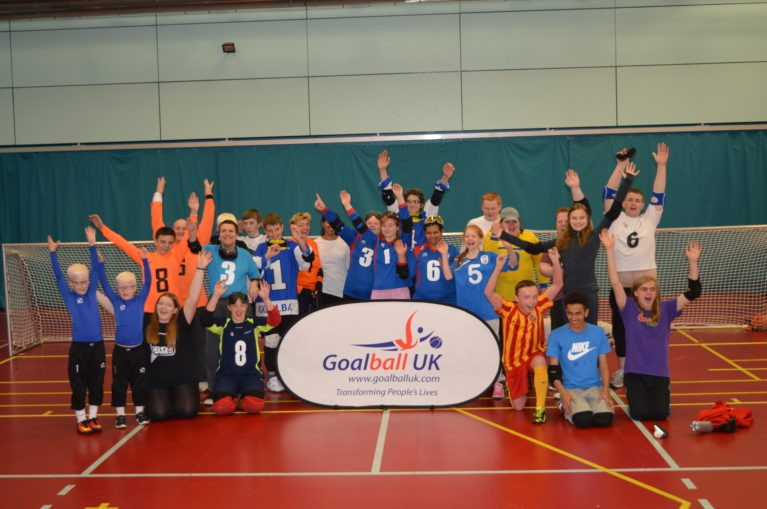 "Goalball UK has been awarded £1.3 million from Sport England in order to continue what it describes as ""the remarkable progress being made in grassroots participation"" ©Goalball UK"