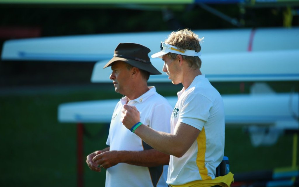 Randell takes up role as men's senior coach at Rowing Australia