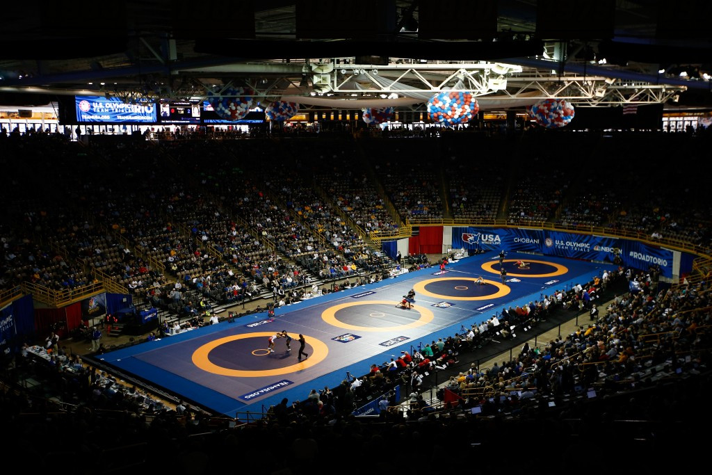 Iowa City awarded 2018 Freestyle Wrestling World Cup