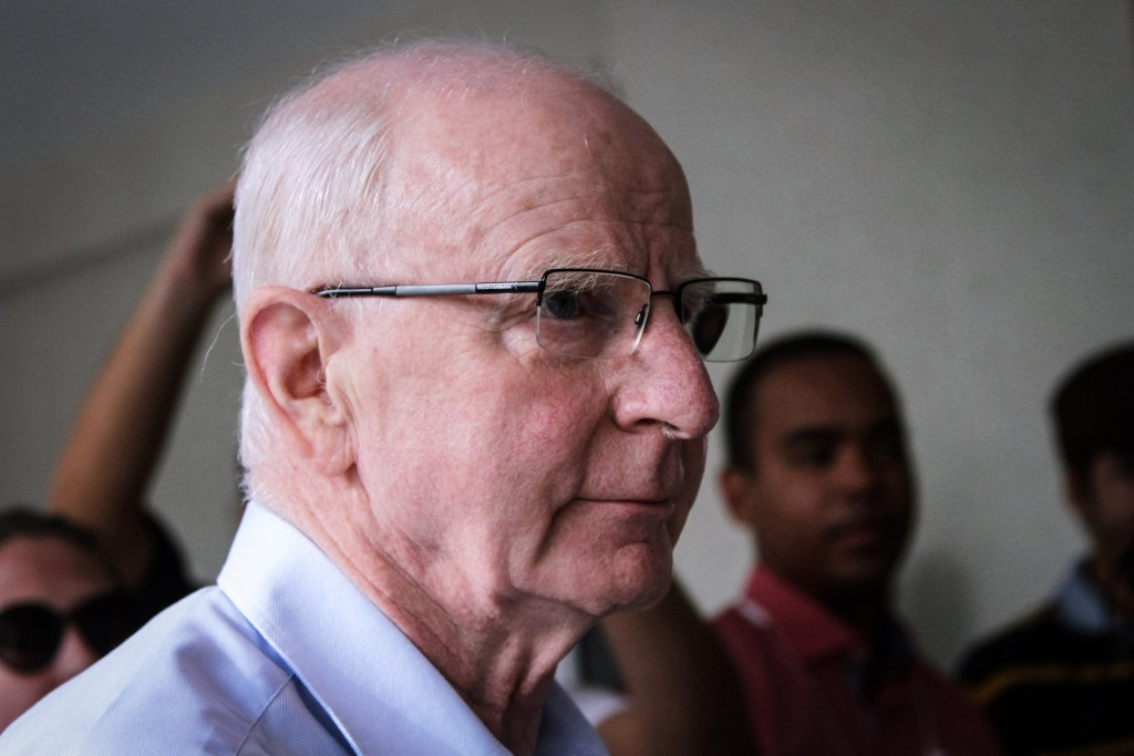 Kevin Mallon had been sharing a cell with Patrick Hickey, pictured, in the high security Bangu prison in west Rio de Janeiro ©Getty Images