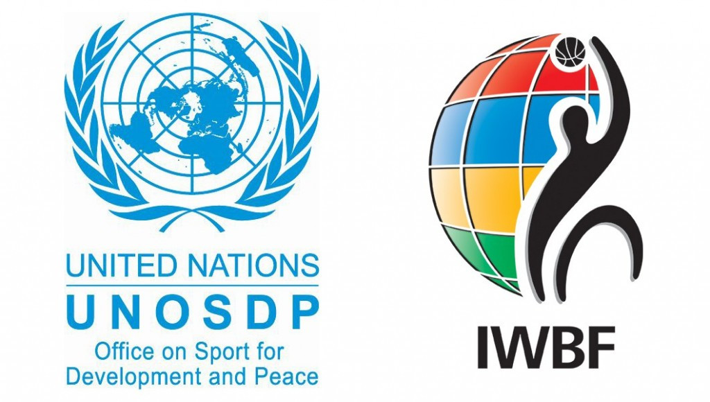 IWBF President Ulf Mehrens has signed a letter of intent with Wilfried Lemke, the United Nations' special adviser on sport for development and peace to UN secretary general Ban Ki-moon, in German city Bremen ©UNOSDP/IWBF