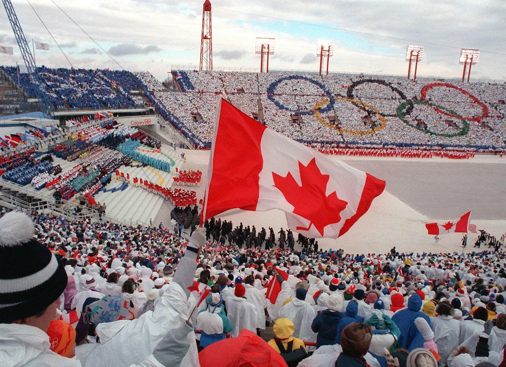 Calgary also played host to the Winter Olympic Games in 1988 ©Getty Images
