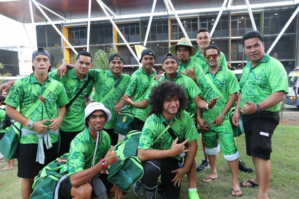 The Cook Islands were the first team to arrive in Port Moresby ahead of the Pacific Games Opening Ceremony on July 4 ©Port Moresby 2015/Facebook