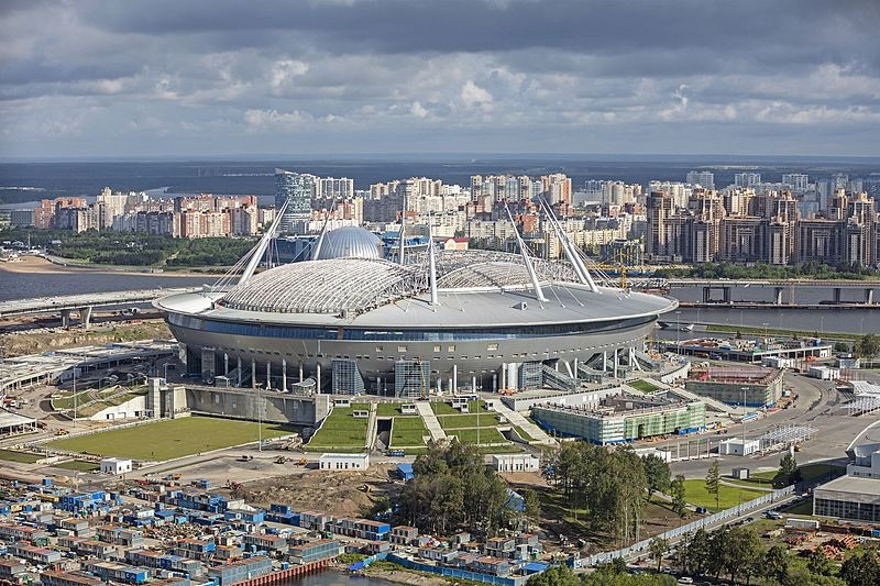 FIFA approve 2018 World Cup stadium in St Petersburg as first match is scheduled