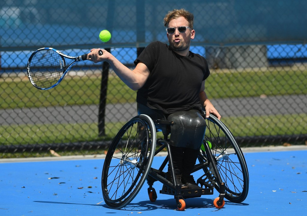 Alcott rewarded for superb year by topping wheelchair tennis quad singles world ranking