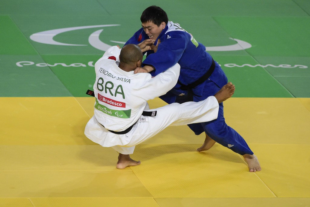Brazil won four judo silver medals at the Rio 2016 Paralympics ©Getty Images