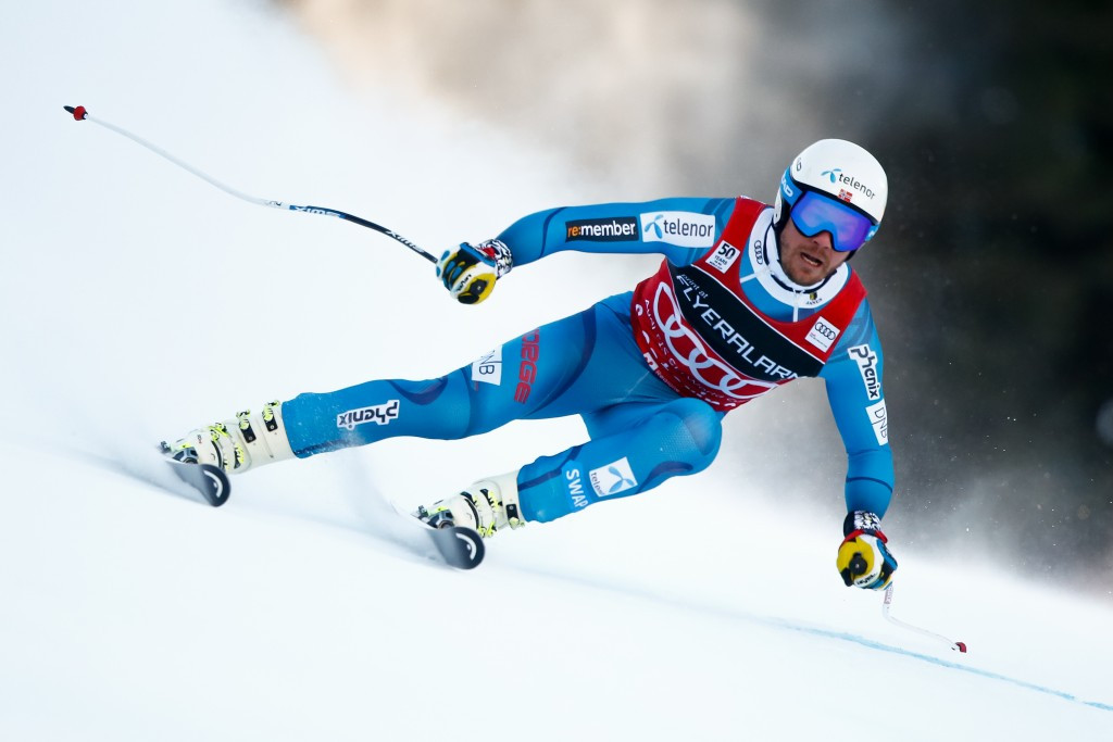 Jansrud seals super-G hat-trick as Shiffrin wins giant slalom at FIS Alpine Skiing World Cup