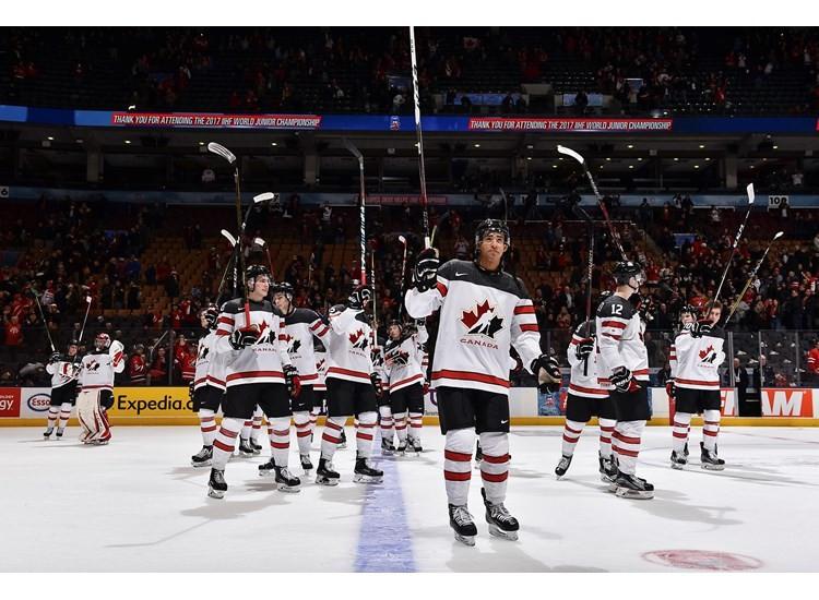 Hosts Canada produce stunning performance to thrash Slovakia at IIHF World Junior Championship