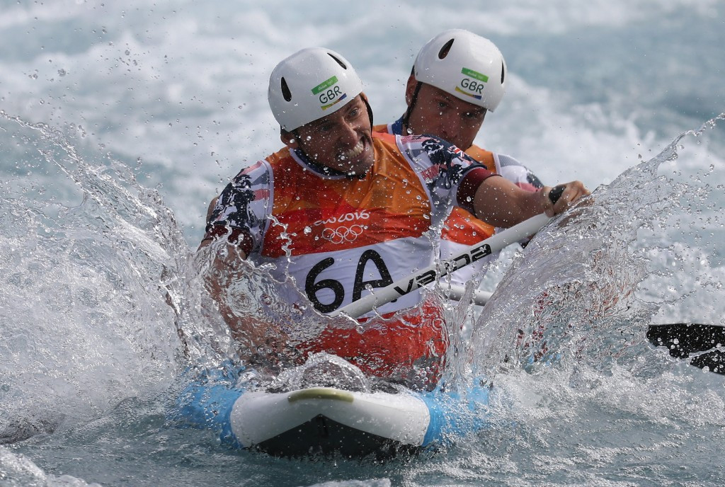 Canoeing places second on the list ©Getty Images